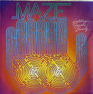 Album  Cover Maze - Maze Featuring Frankie Beverly on CAPITOL Records from 1977