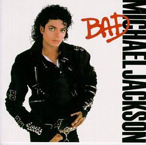 Album  Cover Michael Jackson - Bad on EPIC Records from 1987