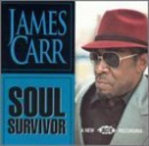 Album  Cover James Carr - Soul Survivor on SOULTRAX Records from 1993