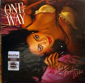 Album  Cover One Way - Who's Foolin' Who on MCA Records from 1982