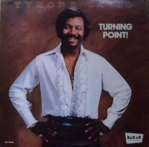 Album  Cover Tyrone Davis - Turning Point on  Records from 1976