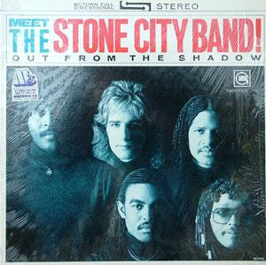 Album  Cover The Stone City Band - Out From The Shadow on MOTOWN Records from 1983
