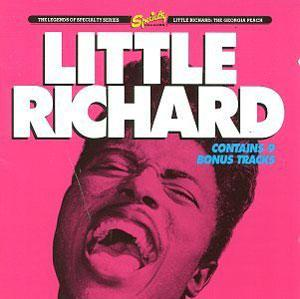 Album  Cover Little Richard - The Georgia Peach on CHARLY Records from 1980