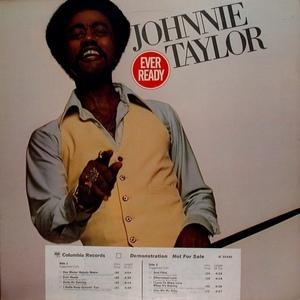 Front Cover Album Johnnie Taylor - Ever Ready
