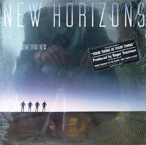 Album  Cover New Horizons - Something New on COLUMBIA Records from 1983