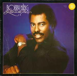 Album  Cover Bobby King - Love In The Fire on MOTOWN Records from 1984