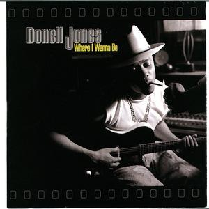 Front Cover Album Donell Jones - Where I Wanna Be