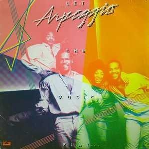 Album  Cover Arpeggio - Let The Music Play on POLYDOR (POLYGRAM) Records from 1978