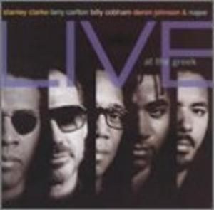 Album  Cover Stanley Clarke - Live At The Greek on EPIC Records from 1993