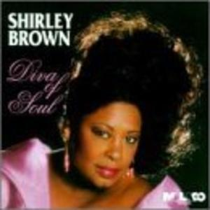 Album  Cover Shirley Brown - Diva Of Soul on MALACO Records from 1995