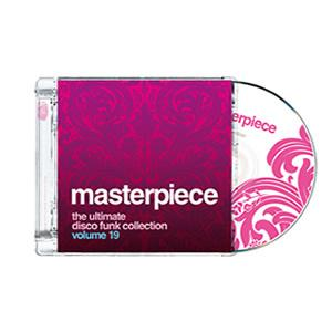 Front Cover Album Various Artists - Masterpiece Vol. 19 - The Ultimate Disco Funk Collection
