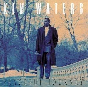 Album  Cover Kim Waters - Peaceful Journey on WARLOCK Records from 1993