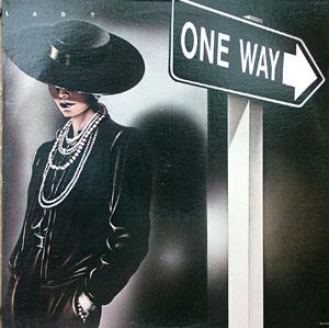 Album  Cover One Way - Lady on MCA Records from 1984