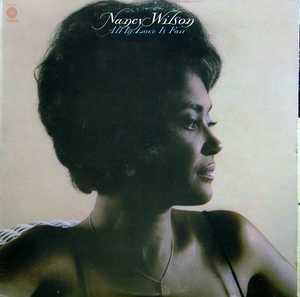 Front Cover Album Nancy Wilson - All In Love Is Fair