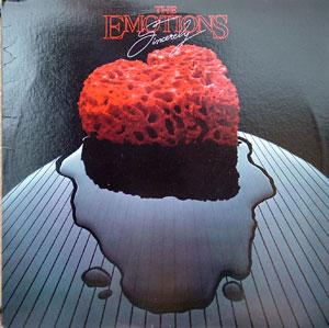Album  Cover The Emotions - Sincerely on RED LABEL Records from 1984
