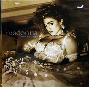 Front Cover Album Madonna - Like A Virgin