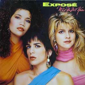 Album  Cover Expose - What You Don't Know on ARISTA Records from 1989