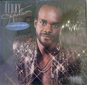 Album  Cover Leroy Hutson - Unforgettable on RSO/CURTOM Records from 1979