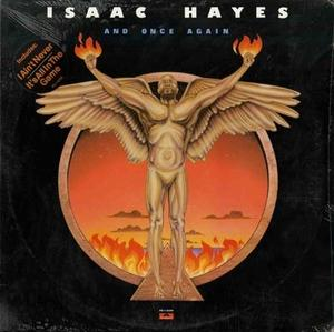 Album  Cover Isaac Hayes - And Once Again on POLYDOR Records from 1980