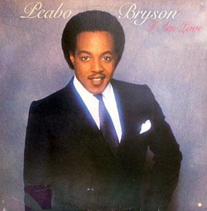 Album  Cover Peabo Bryson - I Am Love on CAPITOL Records from 1981