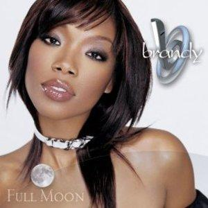 Album  Cover Brandy - Full Moon on ATLANTIC Records from 2002