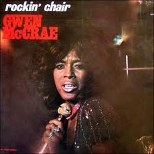 Album  Cover Gwen Mccrae - Rocking Chair on CAT Records from 1975
