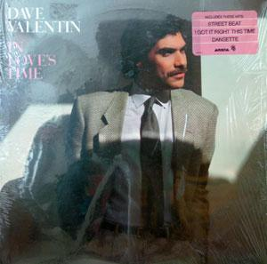 Album  Cover Dave Valentin - In Love's Theme on ARISTA Records from 1983