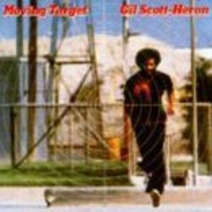 Album  Cover Gil Scott Heron - Moving Target on ARISTA Records from 1982
