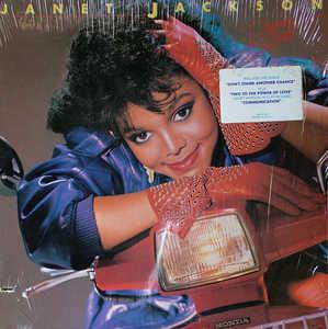 Album  Cover Janet Jackson - Dream Street on A&M Records from 1984
