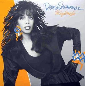 Album  Cover Donna Summer - All Systems Go on GEFFEN Records from 1987