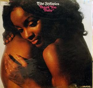 Album  Cover The Stylistics - Thank You Baby on AVCO Records from 1975