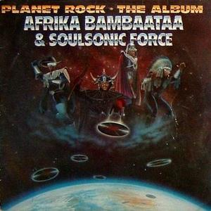 Front Cover Album Afrika Bambaataa - Planet Rock - the album