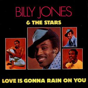 Front Cover Album Billy Jones - Love Is Gonna Rain On You