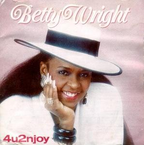 Album  Cover Betty Wright - 4u2njoy on MS.B Records from 1989