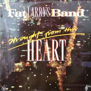 Album  Cover Fat Larry's Band - Straight From The Heart on WMOT , VIRGIN Records from 1983