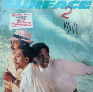 Album  Cover Surface - 2nd Wave on COLUMBIA Records from 1988