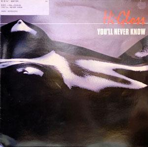 Album  Cover Hi-gloss - You'll Never Know on UNIDISC Records from 1981