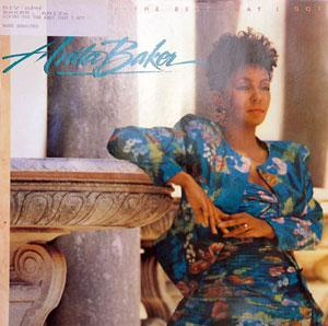 Front Cover Album Anita Baker - Giving You The Best That I Got