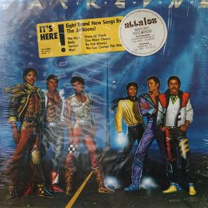 Album  Cover The Jacksons - Victory on EPIC Records from 1984