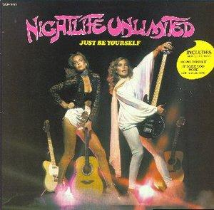 Album  Cover Nightlife Unlimited - Just Be Yourself on UNIDISC LTD. Records from 1980