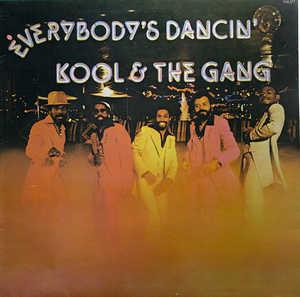 Front Cover Album Kool & The Gang - Everbody's Dancin'