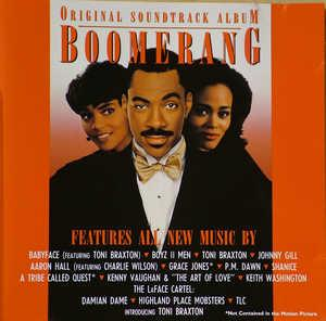 Album  Cover Various Artists - Boomerang on  Records from 1998