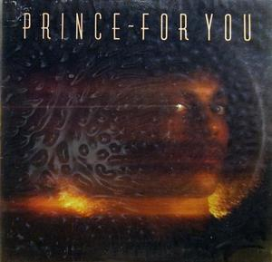 Front Cover Album Prince - For You
