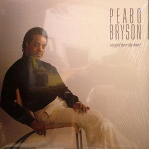 Album  Cover Peabo Bryson - Straight From The Heart on ELEKTRA Records from 1984