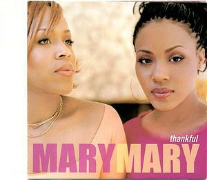 Album  Cover Mary Mary - Thankful on SONY Records from 2000