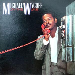Album  Cover Michael Wycoff - On The Line on RCA Records from 1983