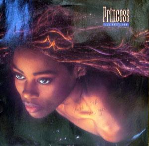 Album  Cover Princess - All For Love on POLYDOR Records from 1988