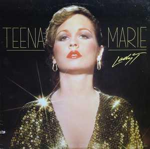 Album  Cover Teena Marie - Lady T on GORDY Records from 1980