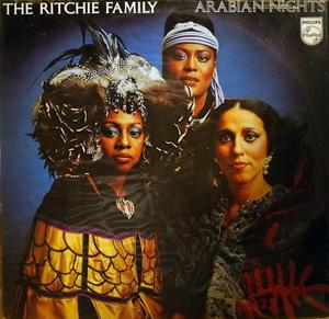 Front Cover Album The Ritchie Family - Arabian Nights