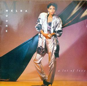 Album  Cover Melba Moore - A Lot Of Love on CAPITOL Records from 1986